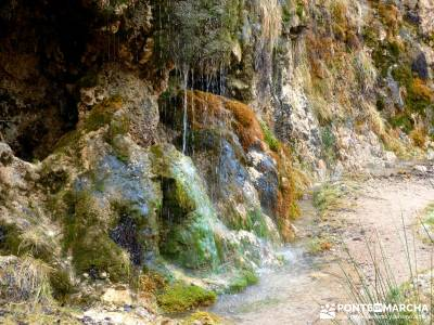 Hoces y cañones del Río Gallo - aguallueve;sendero sulayr